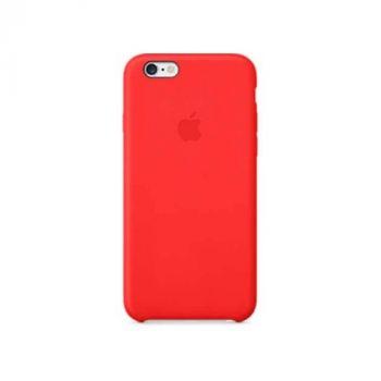 Красивый чехол накладка красного цвета для iPhone 6/6s original copy