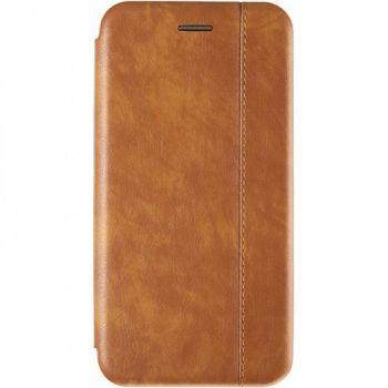 Кожаная книжка Cover Leather от Gelius для Xiaomi Redmi 7 золото