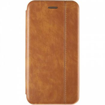 Кожаная книжка Cover Leather от Gelius для Huawei Y6 (2019) золото