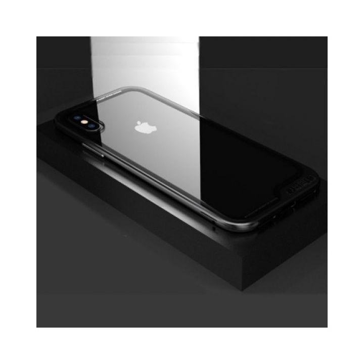 Защитный чехол бампер Ultra Protection для iPhone X черный