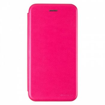 Чехол книжка из кожи Ranger от G-Case для Huawei Y7 Prime (2018) розовый