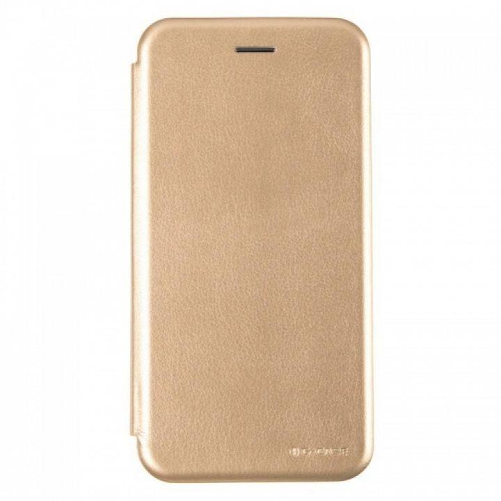 Чехол книжка из кожи Ranger от G-Case для Xiaomi Mi6x/A2 золотой