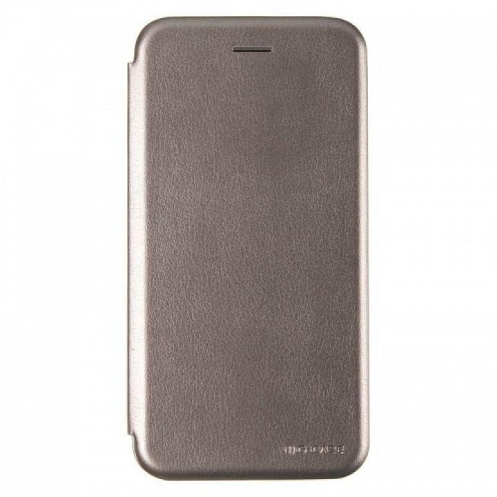Чехол книжка из кожи Ranger от G-Case для Xiaomi Mi6x/A2 серый