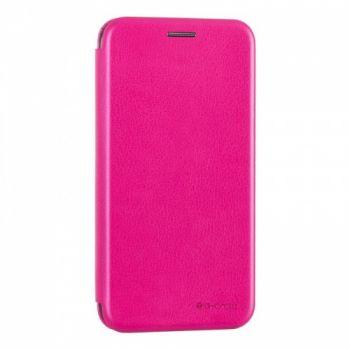 Чехол книжка из кожи Ranger от G-Case для Xiaomi Redmi 4x розовый