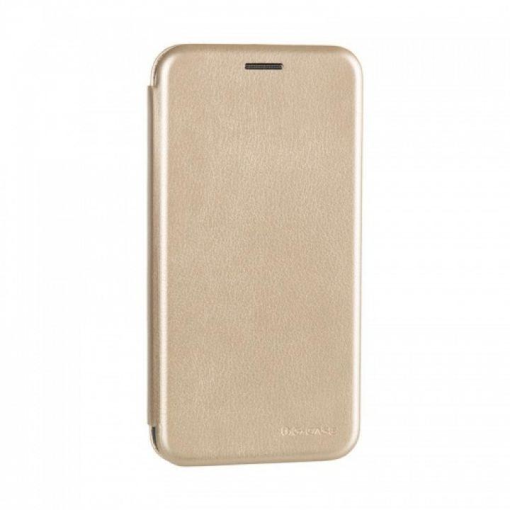Чехол книжка из кожи Ranger от G-Case для Xiaomi Redmi 4x золотой