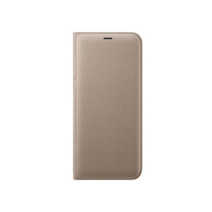 Красивый Full cover чехол книжка Samsung Galaxy S9 Plus gold