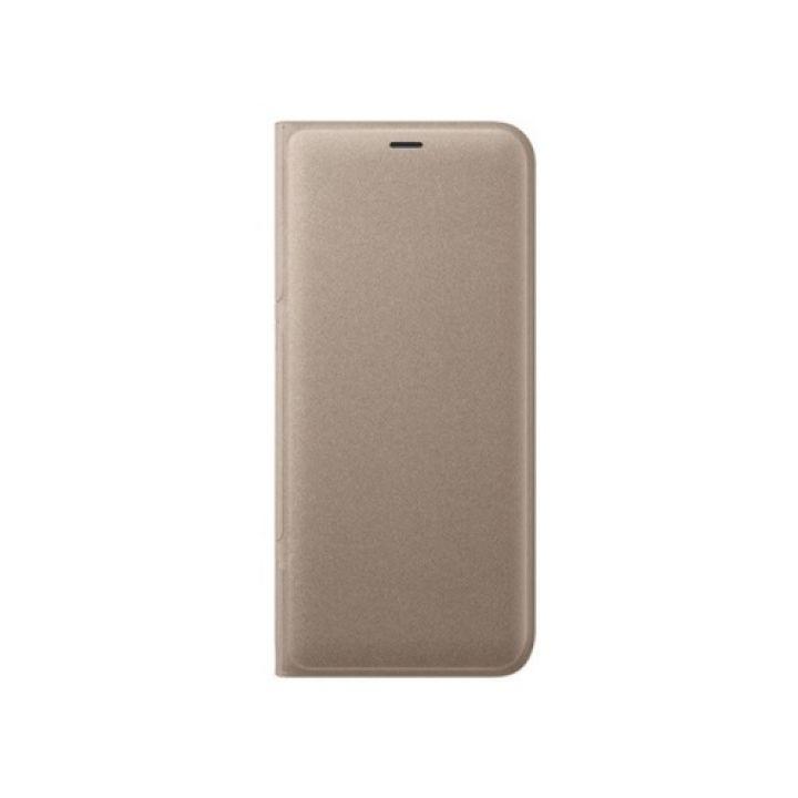 Full cover чехол книжка для Samsung Galaxy S9 золото