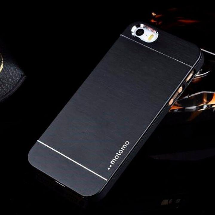 Металлический чехол-накладка Luxury Hard для iPhone 5/5S black