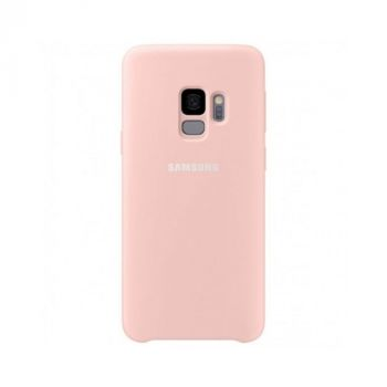 Чехол накладка Silicone Rose для Samsung Galaxy S9 Plus