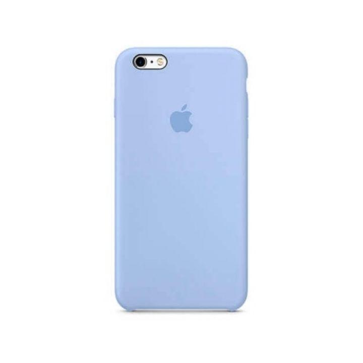 Чехол накладка голубого цвета для iPhone 6/6s original copy