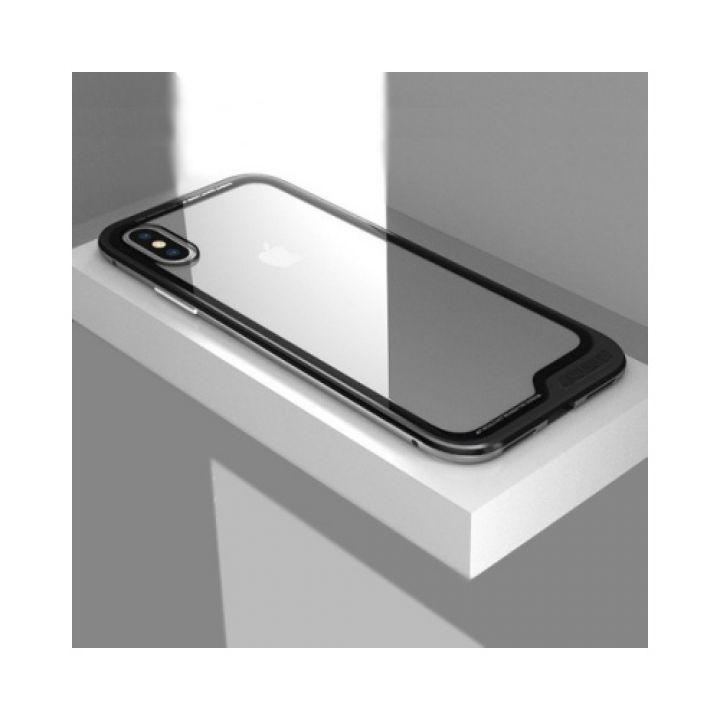 Оригинальный металлический чехол бампер для iPhone X Ultra Protection