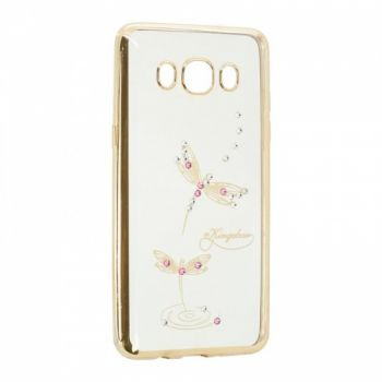 Прозрачный чехол с рисунком и камешками для Xiaomi Redmi 5 Dragonfly