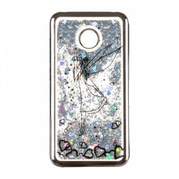 Чехол 3D с жидкостью и блестками Beckberg Aqua для Huawei Nova 2s Fairy черный