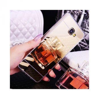 Зеркальный чехол накладка Acylic для Samsung Galaxy A3 2016