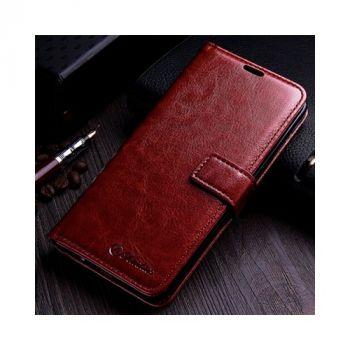 Luxury Retro коричневый чехол книжка для Samsung Galaxy S8 Plus