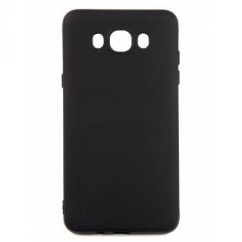 Оригинальная силиконовая накладка для Samsung J710 (J7-2016) черный