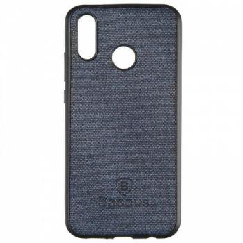Стильная мужская накладка Skill Case от Baseus для Huawei P20 Lite синий