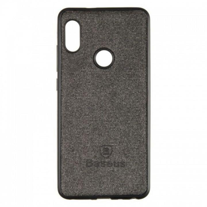 Стильная мужская накладка Skill Case от Baseus для Xiaomi Redmi Note 5/5 Pro Black