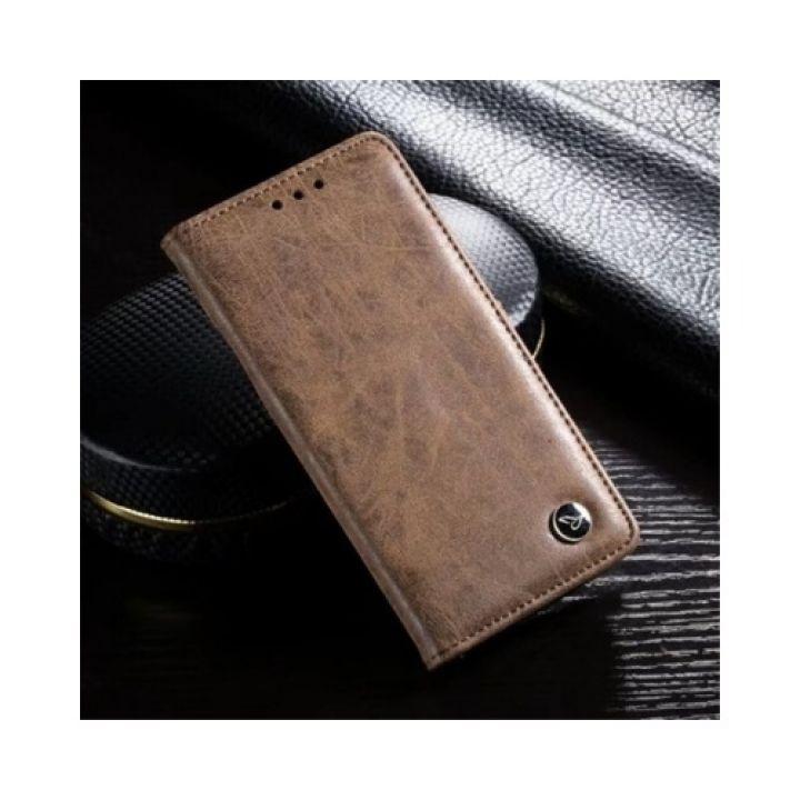 Коричневый чехол книжка Imagine для Samsung Galaxy Note 8