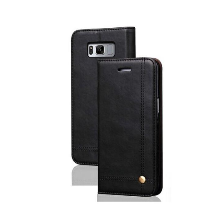 Кожаный чехол книжка Elegant для Samsung Galaxy S8