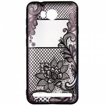 Чехол накладка с татуировкой Tatoo Art от Rock для Huawei Y3 II Magic Flowers