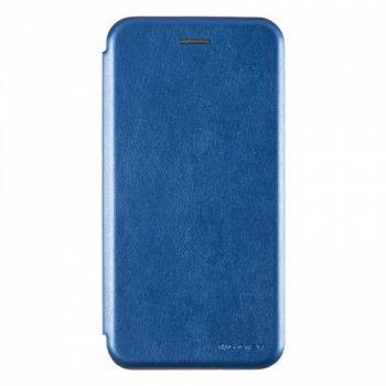 Чехол книжка из кожи G-Case Ranger для Samsung J810 (J8-2018) синий