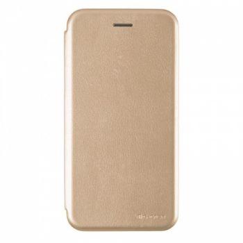 Чехол книжка из кожи G-Case Ranger для Samsung J810 (J8-2018) золотой