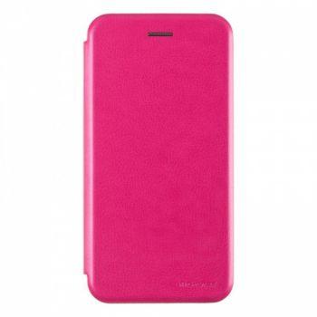 Чехол книжка из кожи G-Case Ranger для Samsung J810 (J8-2018) розовый