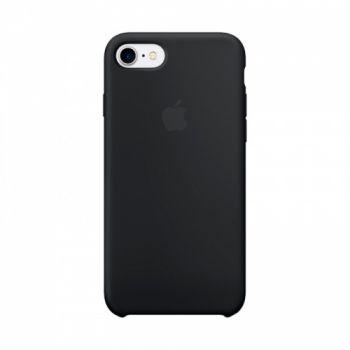 Оригинальный чехол накладка Soft Case для iPhone 7 черный