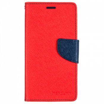 Чехол книжка из материи о Goospery для Huawei Y5 II красный