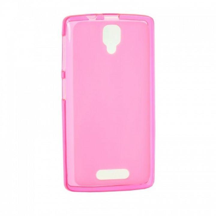 Оригинальная силиконовая накладка для Xiaomi Redmi 5 розовый