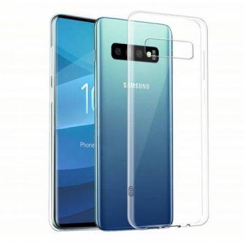 Прозрачный силиконовый чехол Thin Air для Samsung S10 Plus