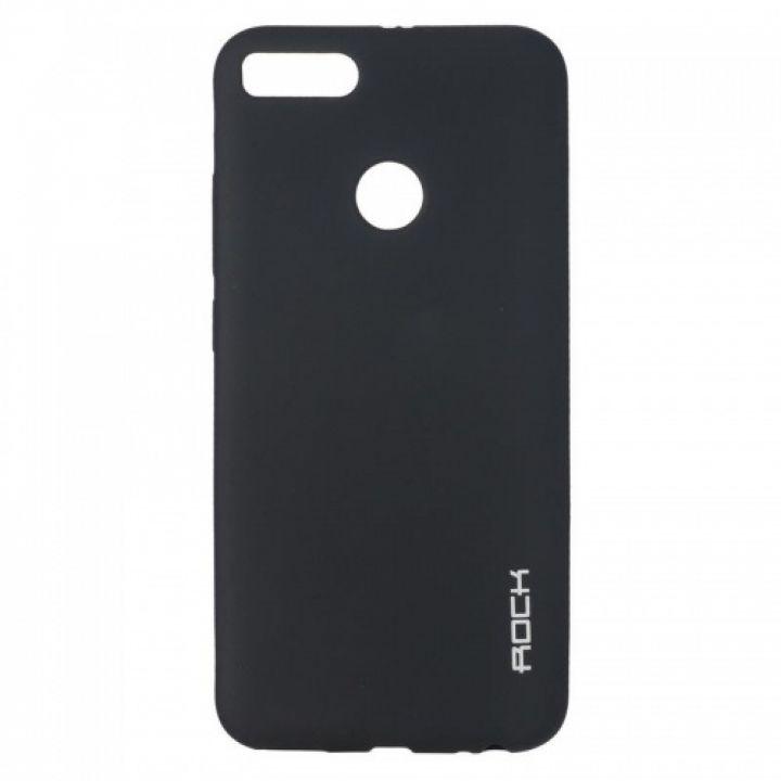 Плотный силиконовый чехол Matte от Rock для Xiaomi Redmi 4a черный