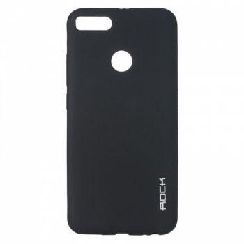 Плотный силиконовый чехол Matte от Rock для Xiaomi Redmi Note 5a Prime черный