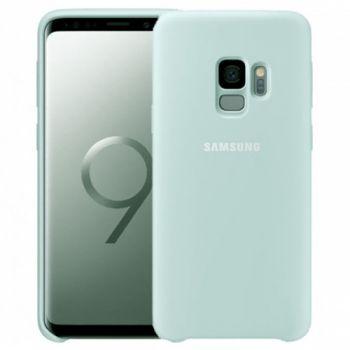Оригинальный чехол накладка Soft Case для Samsung S9 Ocean Mint