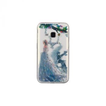 Чехол накладка с камнями из серии Ladys от Remax для Samsung A510 (A5-2016) Peacock