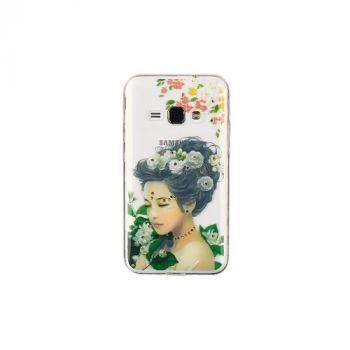 Чехол накладка с камнями из серии Ladys от Remax для Samsung A510 (A5-2016) Flowers
