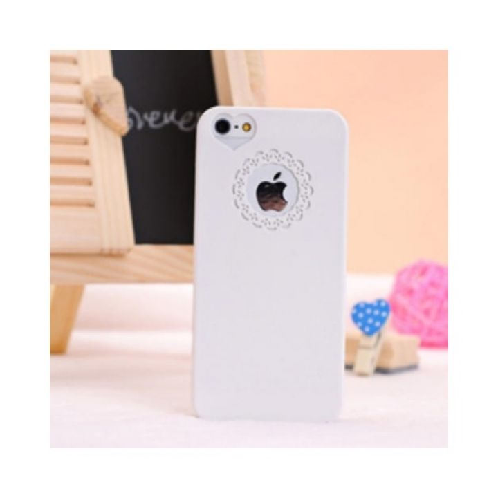 Чехол-бампер Luxury для iPhone 5/5S White