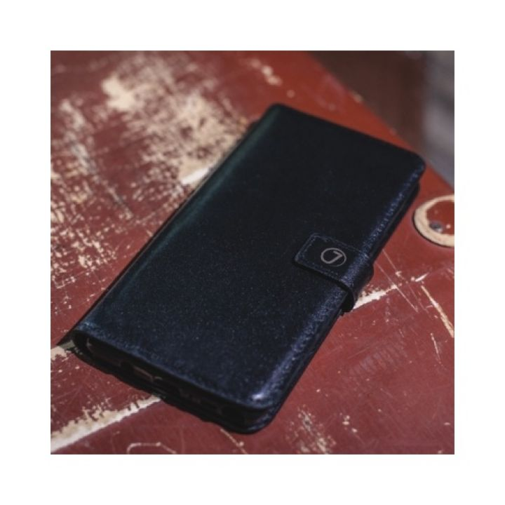 кожаный чехол книжка Klassika от Jitnik для iPhone 6 plus, черный