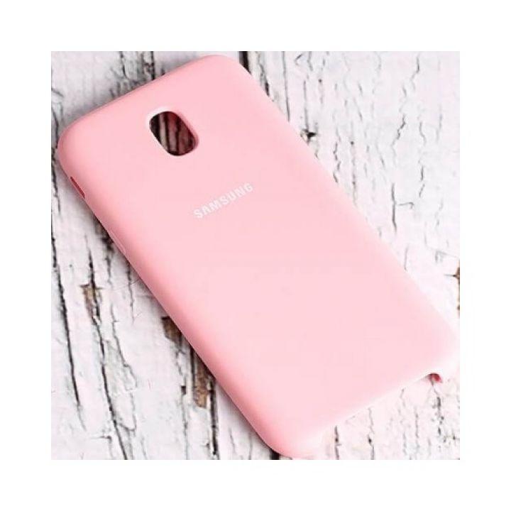 Розовый чехол бампер S-Cover для Samsung Galaxy J330 2017 оригинал
