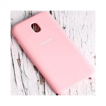 Розовый чехол бампер S-Cover для Samsung Galaxy J730 2017 оригинал