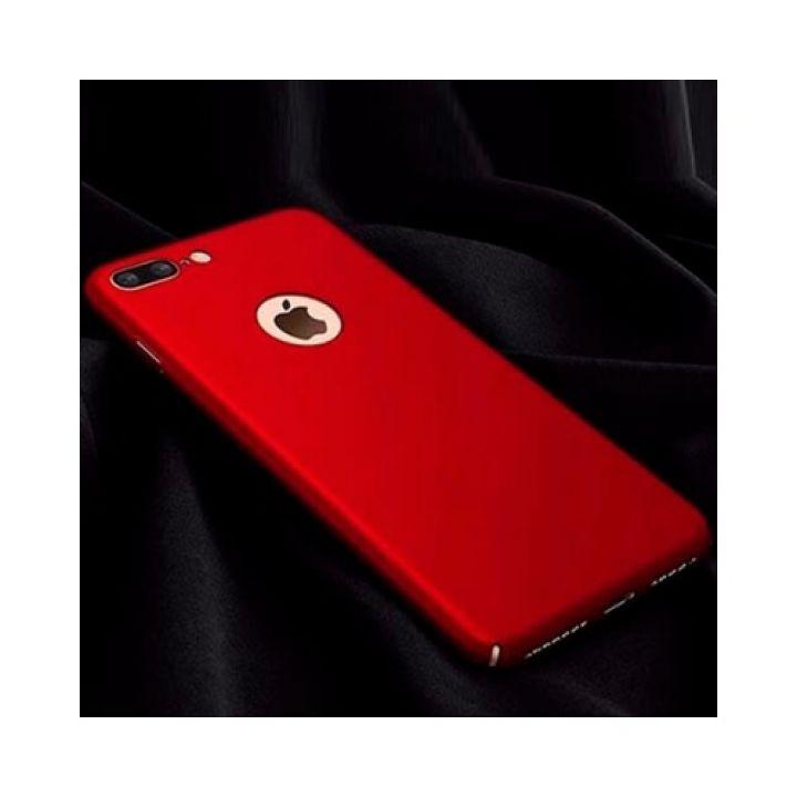 Тонкий красный чехол Silk Touch для iPhone 8 Plus