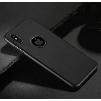 Черный силиконовый чехол накладка UltraSlim для iPhone X