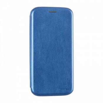 Чехол книжка из кожи G-Case Ranger для Samsung J610 (J6 Plus) синий