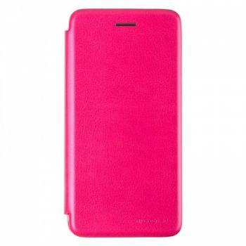 Чехол книжка из кожи G-Case Ranger для Samsung J610 (J6 Plus) розовый