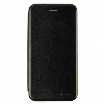 Чехол книжка из кожи Ranger от G-Case для Huawei Y7 Prime (2018) черный