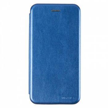 Чехол книжка из кожи Ranger от G-Case для Huawei Y7 Prime (2018) синий