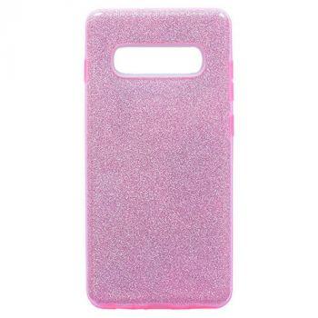 Розовый чехол бампер Amazing для Samsung Galaxy S10