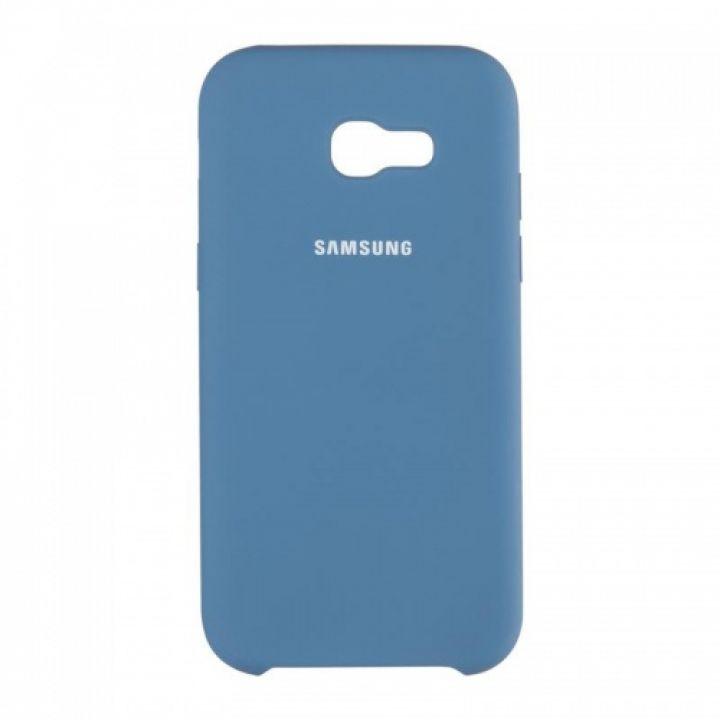 Оригинальный чехол накладка Soft Case для Xiaomi Mi6x/A2 темно-синий