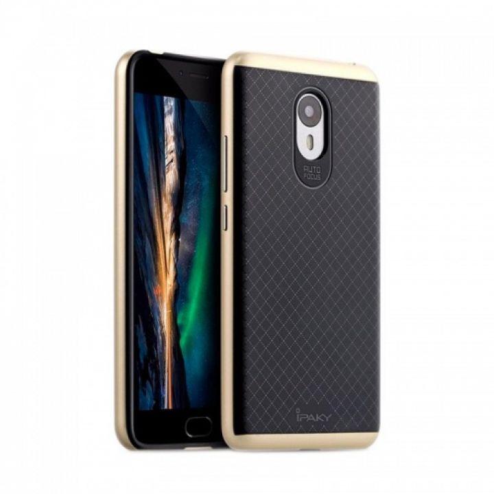 Накладка Carbon от iPaky с пластиковой обводкой для Xiaomi Redmi Note 5a золото